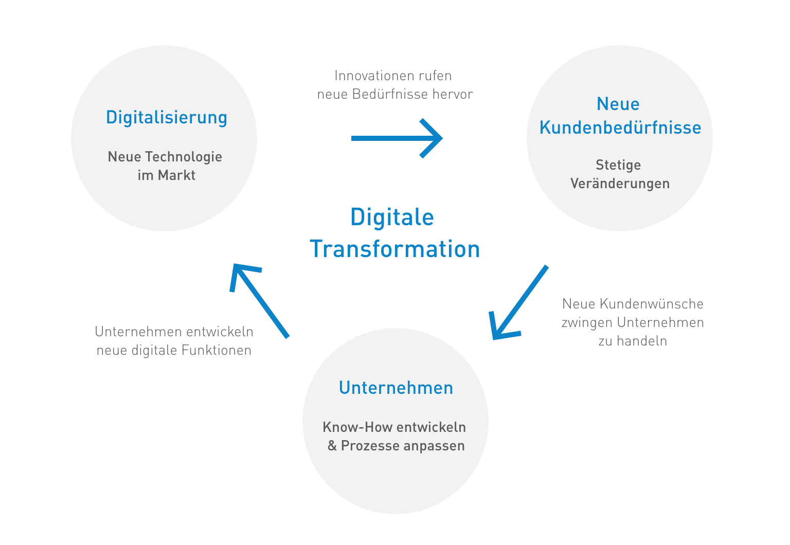 Digitale Transformation: Kreislauf