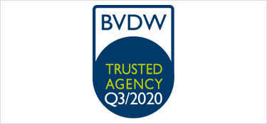 Trusted Agency Siegel des BVDW