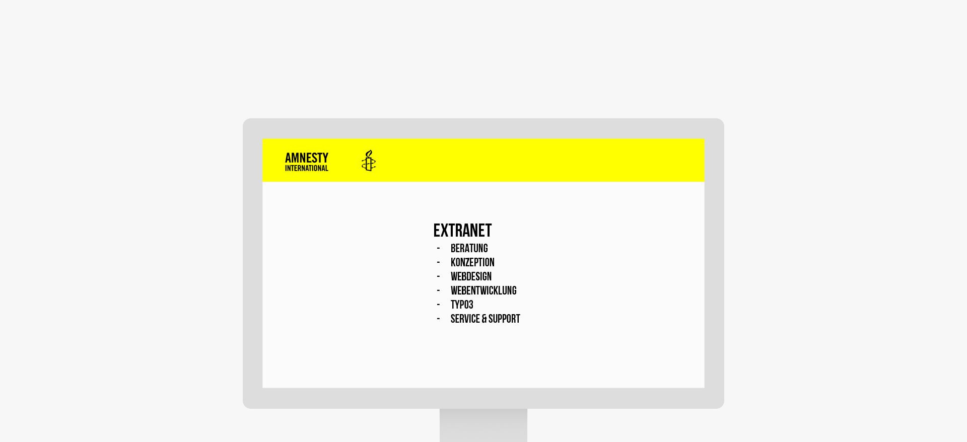 Amnesty International Extranet